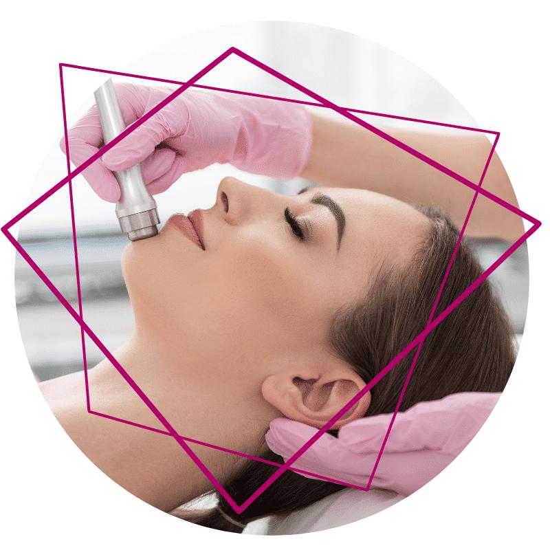 Gesichtsbehandlungen Microdermabrasion für Ihr Strahlen